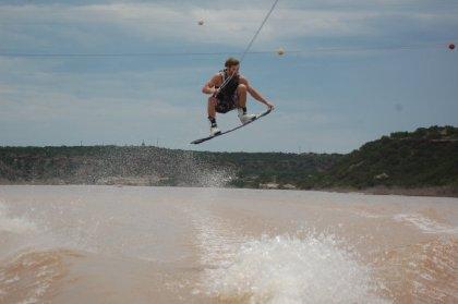 John Marshall Wakeboarding - Heelside Nose Grab - Lubbock, Texas